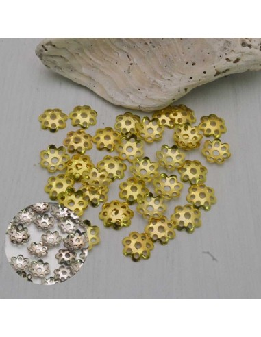 55 Pz. Copri perle filigrana