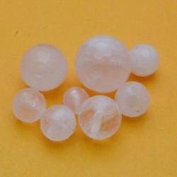 quarzo rosa tondo sfaccettato 3 mm - 20 mm Pietra Dura per i tuoi gioielli