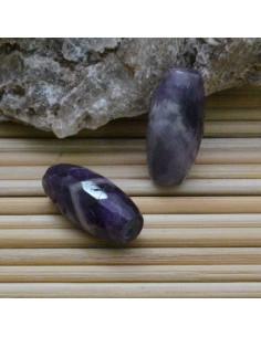 Ametista forma ovale tondo sfaccettata 9 x 20 mm per tuoi gioielli