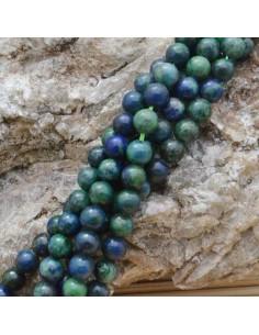 pietra LAPISLAZZULI AFGHANISTAN TONDO LISCIO 6 mm 65 pz 40cm per i tuoi gioielli