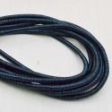 filo metallico ricoperto lurex col blu per base orecchini collana bracciali per tuoi gioielli