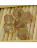 Pietra Semipreziosa Cubo 3D sfaccettato Vesuvianite