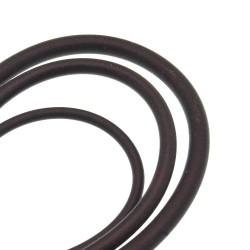 Filo di caucciu pieno per bese collana bracciale varia misura confezione 1 mt per bigiotteria