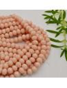 perline di cristallo cinese mezzi cristalli cipollotti 6 x 8 MM colore crema 70 pz