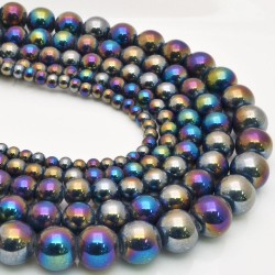 perle in ceramica luminoso Smalto metallic mix varia misura fai da te