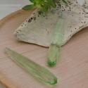 1 pz gocce mezzo foro in zirconi sfaccettata 8 x 45 mm idea per orecchini