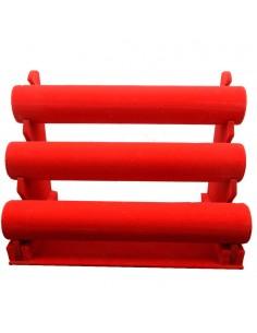 Porti Bracciali vetrina espositore per Orologi in velluto rosso Bigiotteria