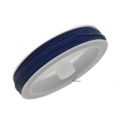 Cavetto in acciaio 0.45 mm Colore Blu