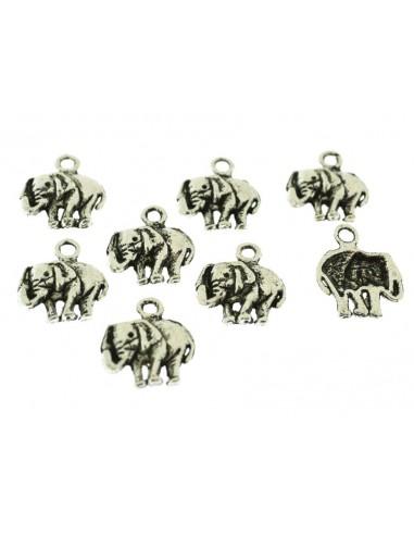 10 Pz. Ciondoli Elefanti