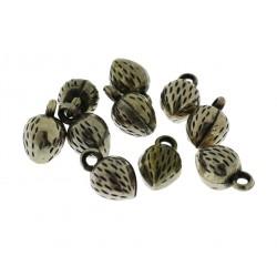10 Pz. Ciondoli Fragole
