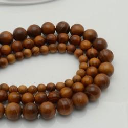 perline di legno palisandro birmano idea bracciale uomo per i tuoi gioielli