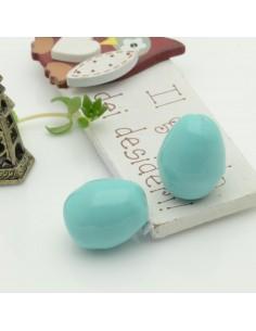goccia barocche perla di maiorca Perlato irregolare 18 x 22 mm col turchese 1 pz per tue creazioni