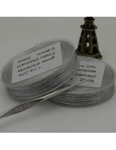 20 mt FILO PER ALL'UNCINETTO col argento collana bracciali e orecchini spessore 0.6 mm per fai da te
