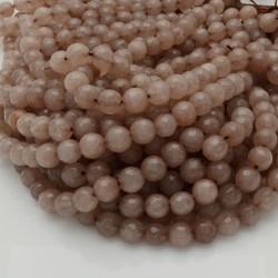 pietra dure agata tondo sfaccettata tortora filo 39 cm per i tuoi gioielli