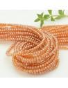 200 pz perline di cristallo arancione cinese mezzi cristalli cipollotti 2 x 3 mm per le tue creazioni