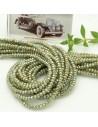 filo cristalli 2 x 3 mm colore verde rodiato cammello sfaccettato e briolette 200 pz per le tue creazioni