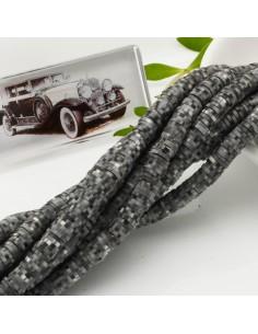 fili Rondelle Pasta Polimerica col grigio sfumato 1 x 5.5 mm 39/40 cm Polimero Perline Heishi per le tue creazione