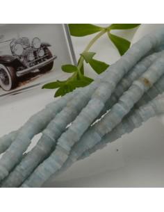 fili Rondelle Pasta Polimerica col azzurro sfumato 1 x 5.3 mm 39/40 cm Polimero Perline Heishi per le tue creazione