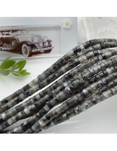 pietre dure forma rondelle liscio 2 x 4 mm 40 cm filo circa 170 pz per le tue creazioni!!!