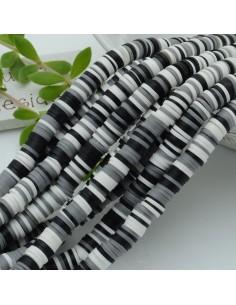 fili Rondelle Pasta Polimerica col mix 39/40 cm Polimero Perline Heishi per le tue creazione