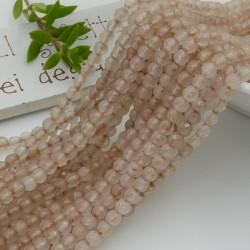 pietra dure agata tondo agata sfaccettata col tortora 4 mm 94 pz 39 cm per i tuoi gioielli