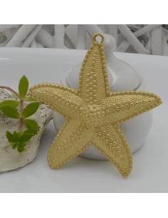 ciondolo in zama a forma di stella marina 65 mm pz 1 per i tuoi gioielli alla moda