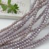 Filo cristallo Rondelle lilla 2.5 x 3.5 mm briolette 125 a 145pz per le tue creazioni n 82