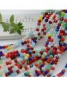 Filo cristallo Rondelle mix 2.5 x 3.5 mm briolette 125 a 145pz per le tue creazioni n 58