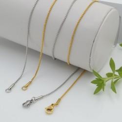 collana cobra Sottile Semplice spessore 1.2 mm ultimo qualità 45 cm in rame per le tue creazioni
