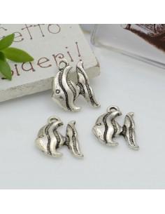 Ciondoli Charms pendente a forma di pesce 13 x 17 mm 5pz per le tue creazioni!!!