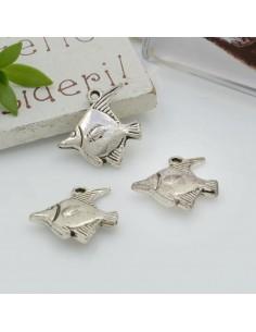 Ciondoli Charms pendente a forma di pesce 16 mm 4pz per le tue creazioni!!!