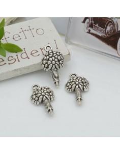 Ciondoli Charms pendente a forma di mazzo di fiori 22 x 12 mm 5 pz per le tue creazioni!!!