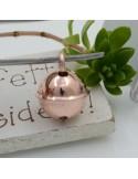 Ciondolo Charms campanella in Argento 925 rodiato 12.5 x 13 mm 1 pz per le tue creazioni fai da te!!!
