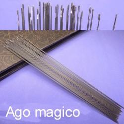 AGO MAGICO per infilare le perline sottili lunghezza 18 cm misura viaria