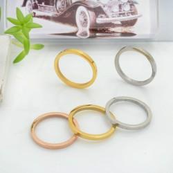 Ciondolo pendente Cerchio in acciaio inossidabile liscio 15 mm 1 pz per le tue creazioni alla moda!!!