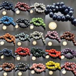 filo perla in ceramica 16 mm smaltata per bijoux collana bracciale orecchini 22PZ