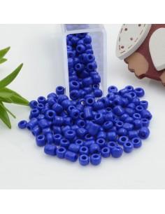 Perline di conteria perline di vetro colore blu 3 mm 4 mm per le tue creazioni alla moda!!