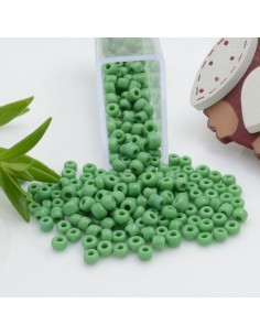 Perline di conteria perline di vetro colore verde 3 mm 4 mm per le tue creazioni alla moda!!