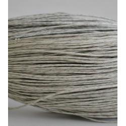 Cordoncino di cotone cerato per bigiotteria macramè uncinetto Bobina Filo 1mm