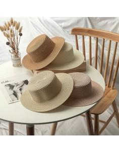 cappello per mare paglia da decorare palma donna cappelli da spiaggia 33 cm