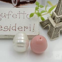 Goccia barocche perla di maiorca Perlato irregolare 13 x 17 mm 1 pz per le tue creazioni!!