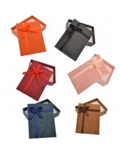 1 Pz. Scatola Confezione Regalo Bracciali Collana Parure Anello