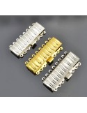 Chiusura 8 fili filigrana incastro per collana bracciale