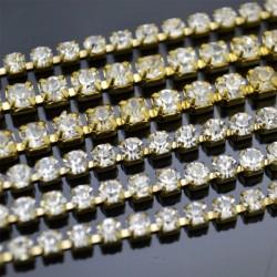 Catene Strass 2.7mm 3.1mm 3.6mm
