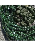 Pietre Dure Opale nero nobile sasso Burattato qualità di gioielli 5-7 mm filo 40cm