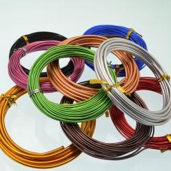 Filo di Alluminio spessore da 1.0 mm Modellabile Wire Fai da te