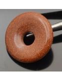 Pietra dura a forma di disco con buco centrale 1 Pz.