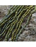 Pietre dure Ematite Rondelle sfaccettata 3x4 mm FILO perline per bigiotteria circa 140 pz 40cm
