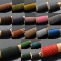 cordino filo in Pelle cuoio 1.5 mm per bigiotteria bracciale,collana 2mt