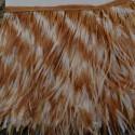nappe piuma di struzzo Fringe piuma di struzzo altezza16cm conf 20cm